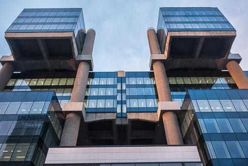 Oficinas Edificio Los Cubos Madrid calle Albacete, 5