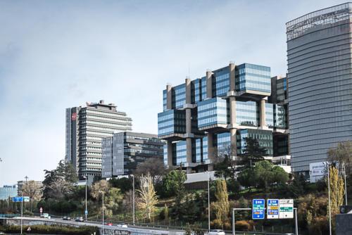 Los Cubos en Madrid, oficinas en M30